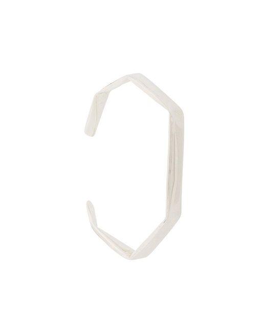 Niza Huang - Metallic Fold Bracelet - Lyst