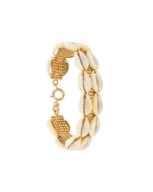 Isabel Marant | White Double Pool Bracelet | Lyst