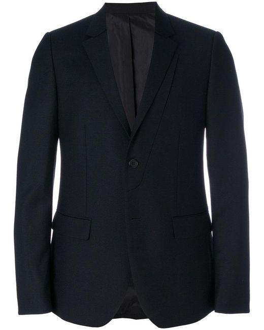 Wooyoungmi - Blue Double Lapel Slim-fit Blazer for Men - Lyst