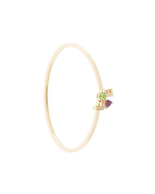 Delfina Delettrez | Metallic Love Bracelet | Lyst