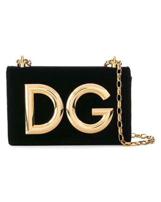 Dolce   Gabbana - Black Dg Millennials Shoulder Bag - Lyst ... 9b6b84e4f8344