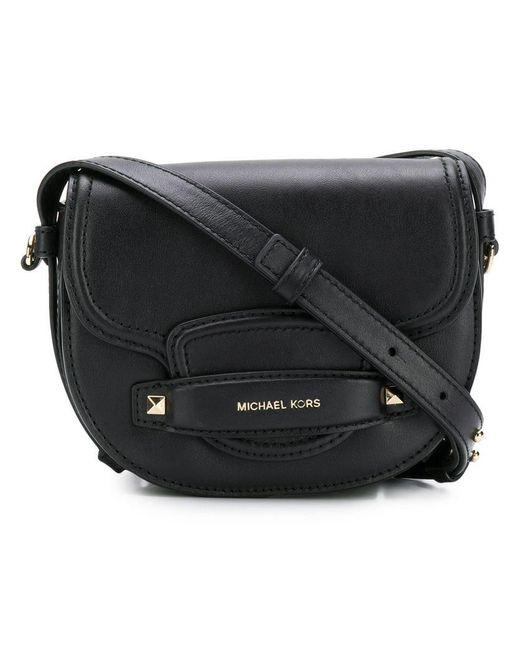 e0bb9b62020 Lyst - Mini sac à bandoulière Cary MICHAEL Michael Kors en coloris Noir