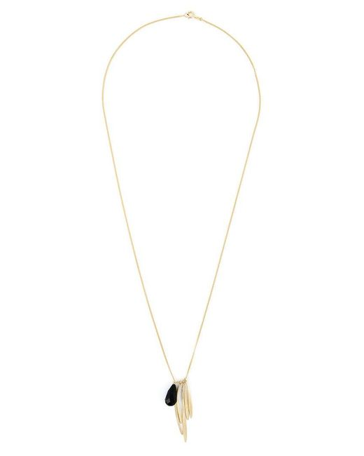 Wouters & Hendrix | Black 'bamboo' Onyx Necklace | Lyst