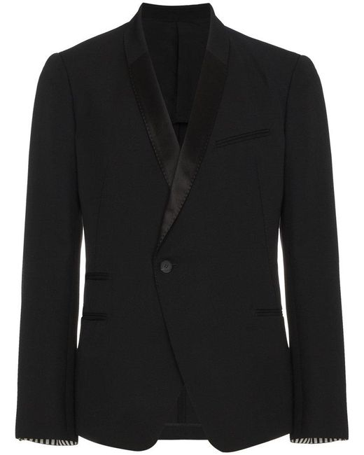 Haider Ackermann - Black One Button Blazer for Men - Lyst