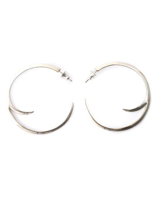 Shaun Leane - Metallic Cat Claw Hoop Earrings - Lyst