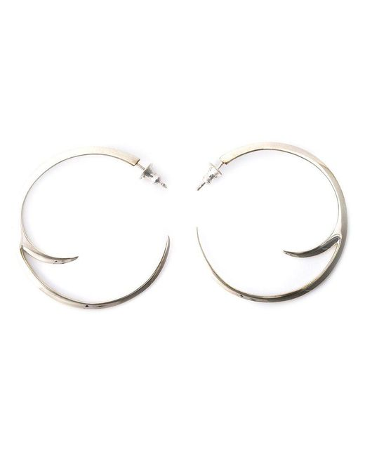 Shaun Leane - Metallic Cat Claw Hoop Earrings - Lyst