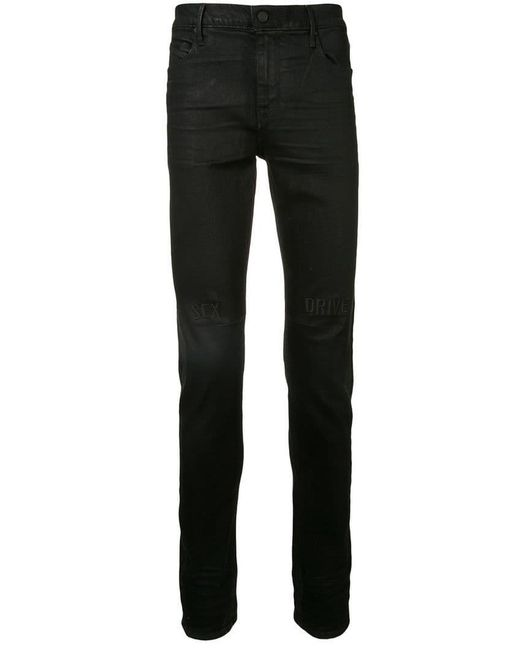 RTA - Black Sex Drive Slim Fit Jeans for Men - Lyst