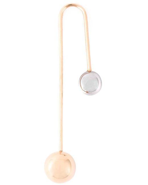 Asherali Knopfer - Metallic Interchangeable Bar Earring - Lyst