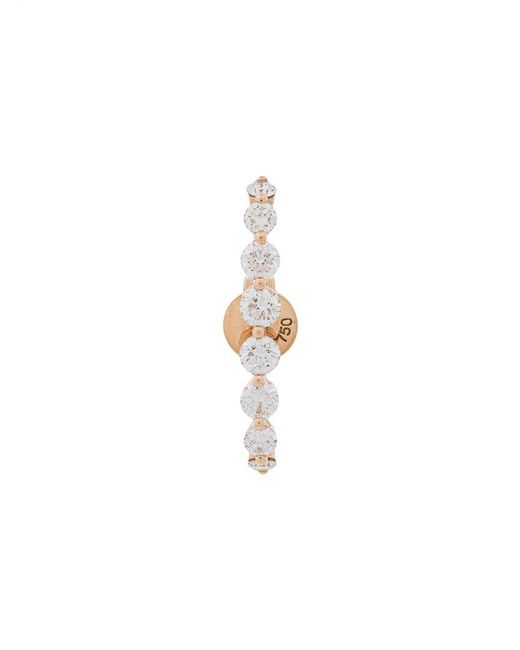 Anita Ko - Metallic Large Floating Diamond Earring - Lyst