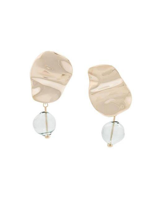 Proenza Schouler - Metallic Bead Earrings - Lyst