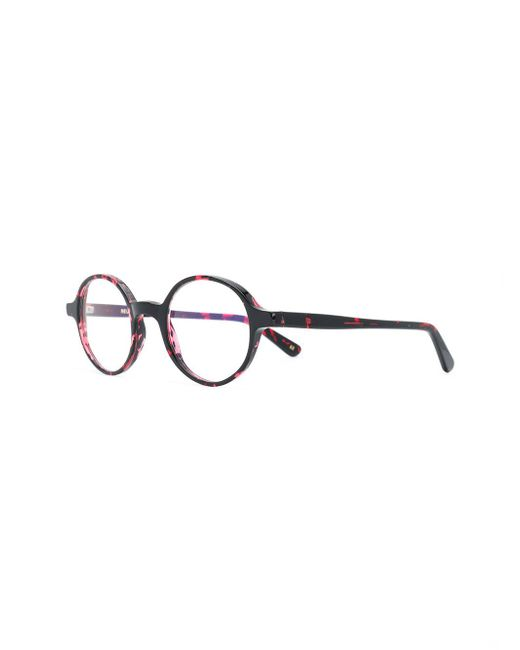 1a51bdc5520 ... Lgr - Red Reunion Round Frame Glasses - Lyst ...