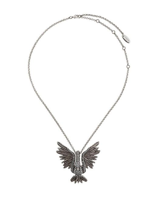 Lanvin - Metallic Bird Necklace - Lyst