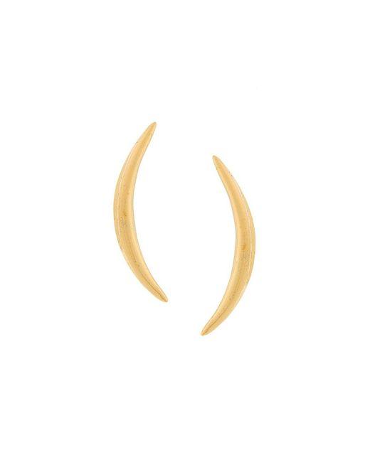 Niomo - Metallic Pinanga Stud Earrings - Lyst