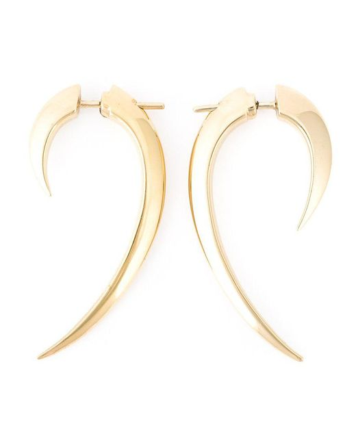 Shaun Leane - Metallic 'signature Tusk' Earrings - Lyst