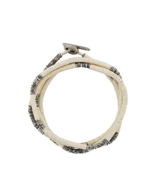 M. Cohen - Metallic Multi Strand Beaded Bracelet - Lyst
