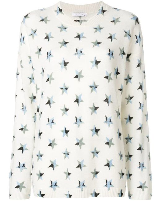 Equipment - Multicolor Star Patch Jumper - Lyst