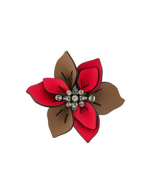 Marni - Brown Spilla Floreale - Lyst