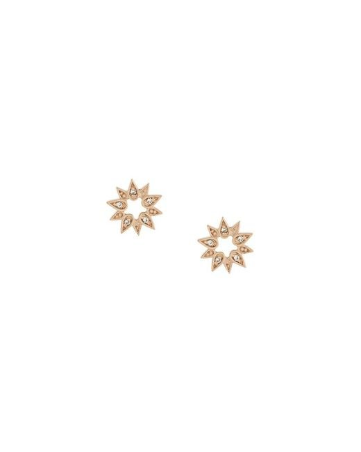 Astley Clarke - Metallic 'mini Sun Biography' Stud Earrings - Lyst