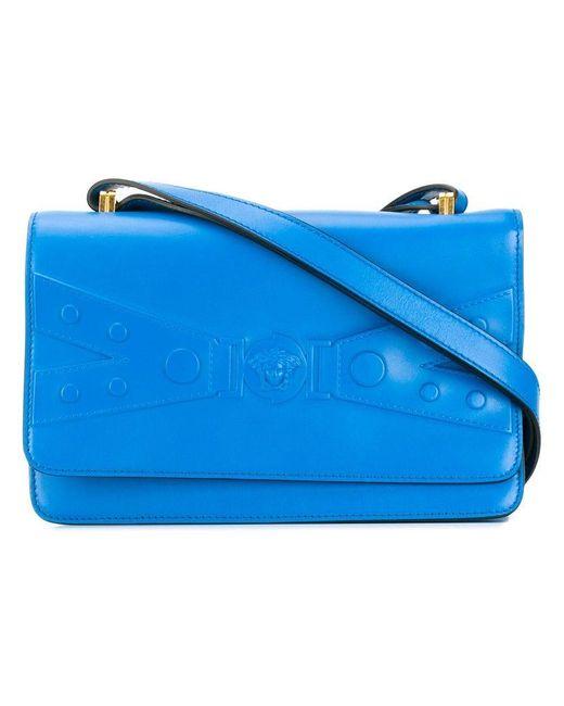 Versace - Blue Tribute X Shoulder Bag - Lyst ... 57c2aac0d1