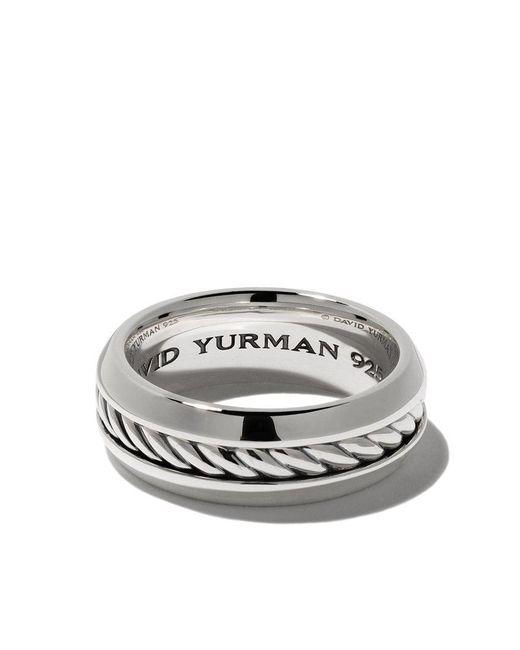 David Yurman - Metallic Cable Classic Band Ring for Men - Lyst