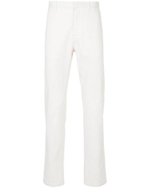 Cerruti 1881 - Brown Slim Fit Trousers for Men - Lyst