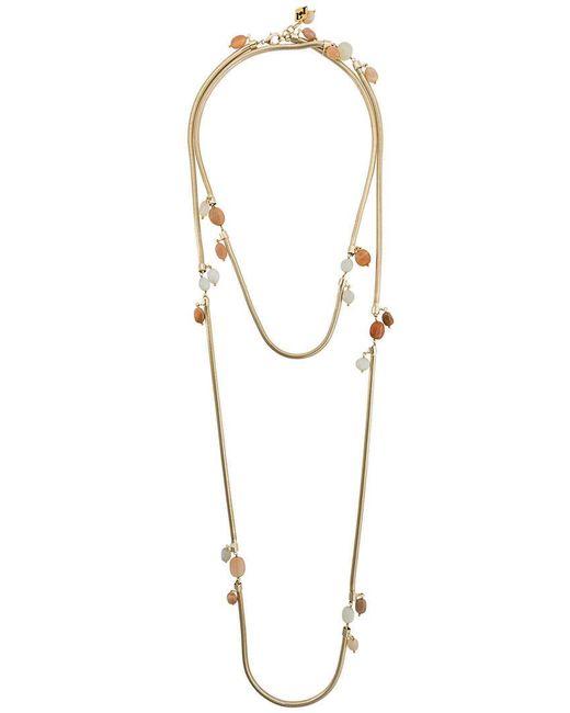Rosantica   Metallic Double Necklace   Lyst