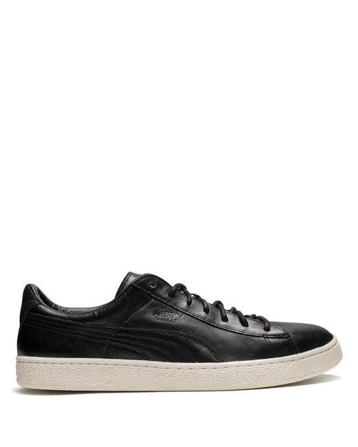 PUMA Black Basket Citi Series Sneakers for men