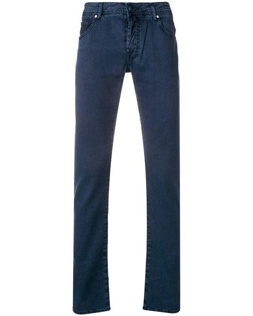 6990e457 Jacob Cohen - Blue Slim-fit Jeans for Men - Lyst ...