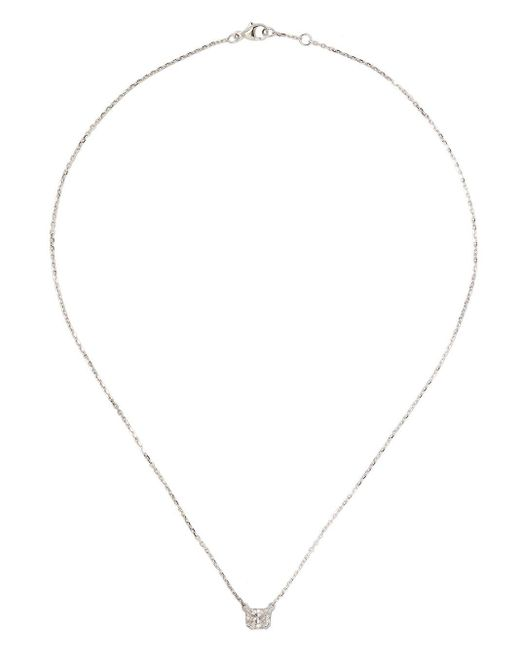 Raphaele Canot - Multicolor Diamond Foundry X Dover Street Market18kt White Gold Lucky Cat Diamond Necklace - Lyst