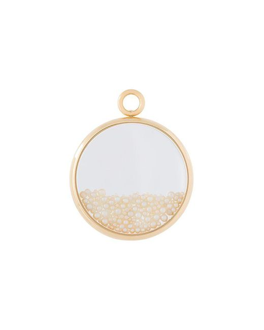 Aurelie Bidermann - Metallic 'chivoir' Fine Pearl Large Pendant - Lyst