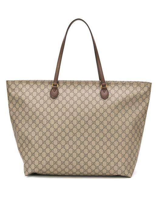 ee02733feb5d Gucci - Multicolor GG Monogram Tote Bag for Men - Lyst ...
