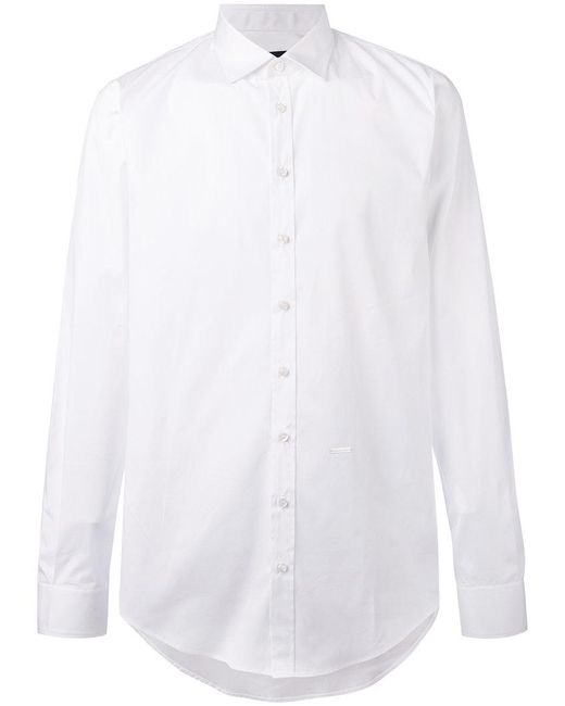 DSquared² - White Buttoned Shirt for Men - Lyst
