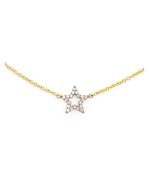 Rosa De La Cruz - Yellow Diamond Smiley Face Charm Bracelet - Lyst