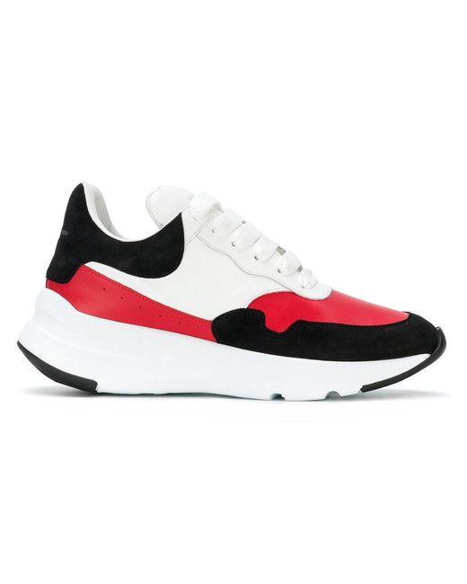 Alexander McQueen - White Oversized Sole Sneakers - Lyst