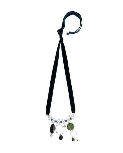 Marni | Blue Mutli Pendant Necklace | Lyst