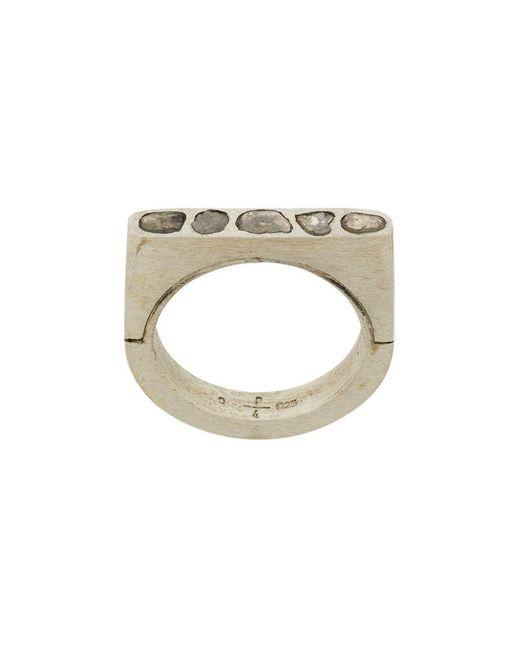 Parts Of 4 | Metallic Sistema Ring for Men | Lyst