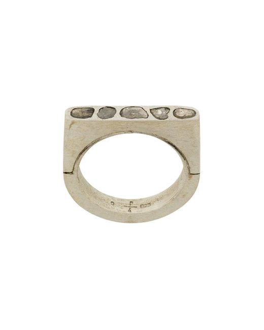 Parts Of 4 | Metallic Sistema Ring for Men | Lyst
