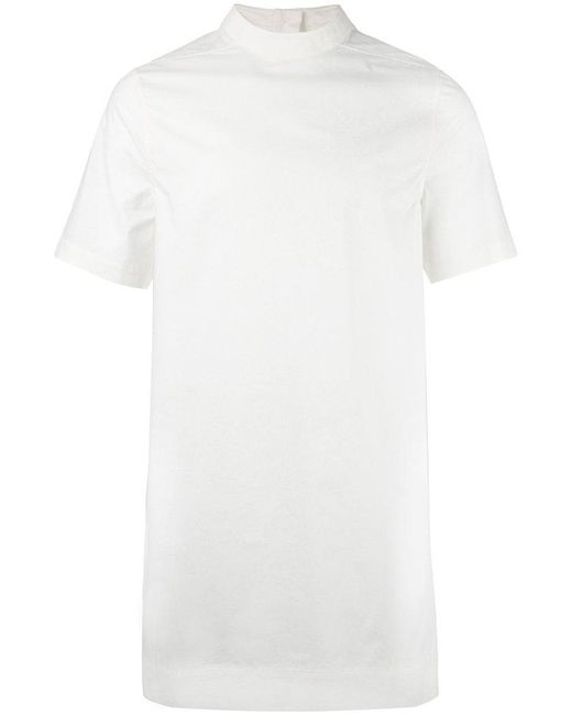 Rick Owens - White Oversized T-shirt - Lyst