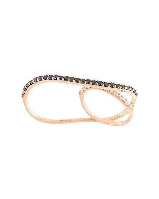 Anapsara | Metallic 'eclipse' Black Diamond Ring | Lyst