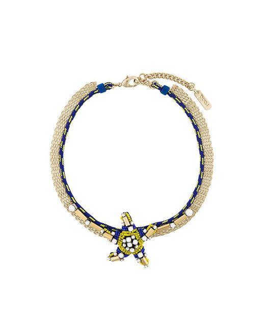 Rada' - Blue Star Pendant Short Necklace - Lyst