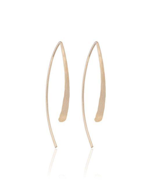 Melissa Joy Manning | Metallic Open Hoop Earrings | Lyst