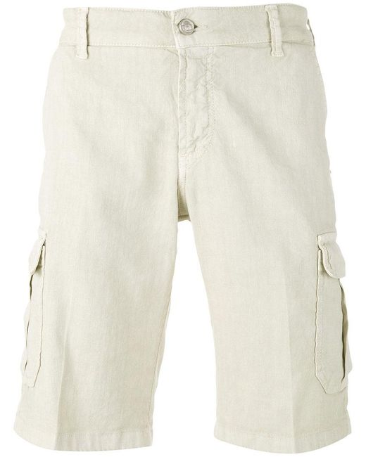 Entre Amis | Natural Cargo Shorts for Men | Lyst