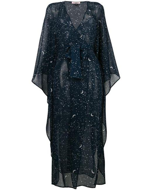 Gilda & Pearl - Blue Luna Kaftan Dress - Lyst