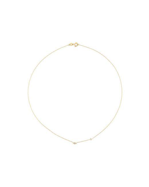 Wouters & Hendrix - Metallic 'baguette' Diamond Necklace - Lyst