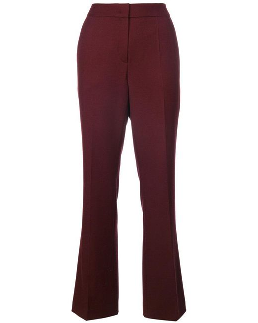ODEEH | High Waisted Tailored Trousers | Lyst