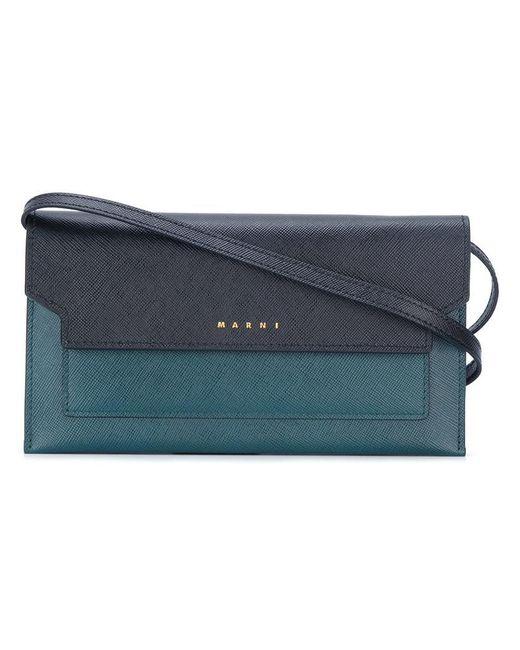 Marni | Black Trunk Wallet Crossbody Bag | Lyst