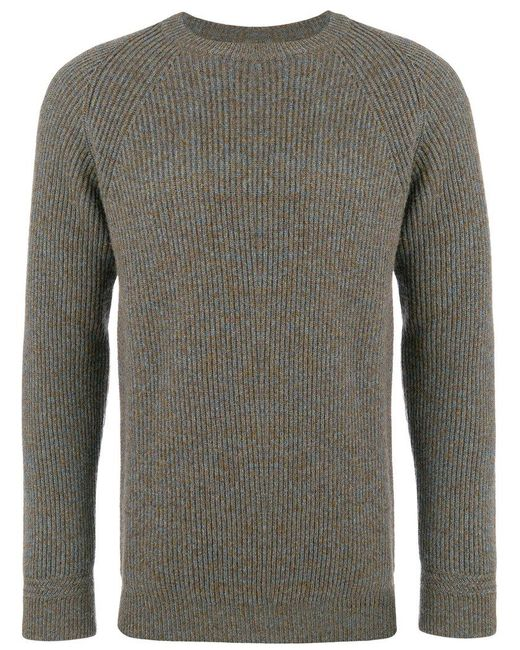 Kent & Curwen - Green Crew Neck Sweater for Men - Lyst