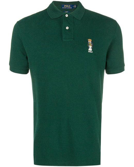 Polo Ralph Lauren - Green Crest Polo Shirt for Men - Lyst