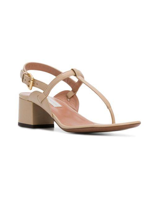 open toe eyelet sandals - Nude & Neutrals L'autre Chose SjP54