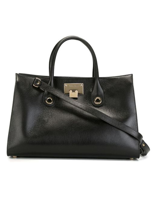 Jimmy Choo | Black Riley Tote | Lyst